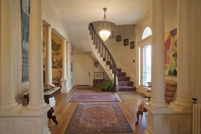 House Foyer Xl : Romanesque revival in washington north carolina